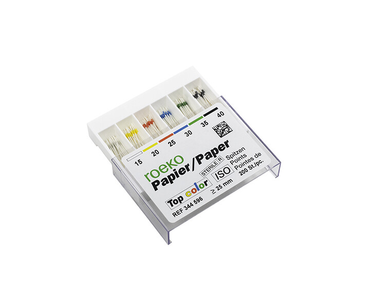Roeko Papierspitzen Top color < 25 mm